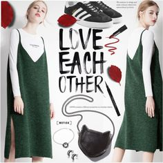 How To Wear Love Each Other Outfit Idea 2017 - Fashion Trends Ready To Wear For Plus Size, Curvy Women Over 20, 30, 40, 50