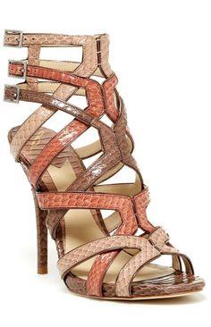 Carbinia Cutout Sandals