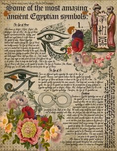 Nature Crafts Book of Shadows, Signs & Symbols: Ancient Egypt, Magical Spiritual Symbolism Wiccan Spell Book, Wiccan Spells, Ritual Magic, Ancient Egypt, Ancient Book, Ancient Symbols, Eclectic Witch, Egyptian Art, Gods And Goddesses