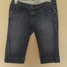 Joes Jeans bermuda shorts Joes Jeans bermuda shorts. Medium wash. 99% cotton, 1% elastic. Gently worn, excellent condition. Joe's Jeans Shorts Bermudas