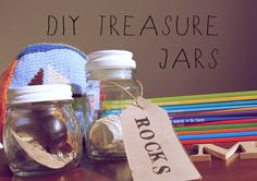 2af86d0639 Easy DIY treasure jars for storing your children's nature collections!