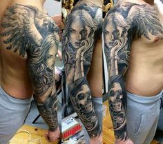 How I want my owl to go from me sleeve to my back/chest. Come on december!