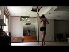 Pole Dance Freestyle to Disturbed The Sound of Silence - YouTube