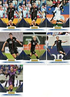 2012 Panini Father's Day USA Womens National Soccer Team Cards
