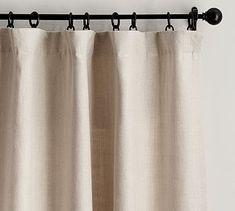 Belgian Flax Linen Drape