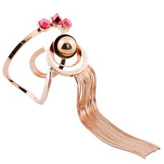ROUTE 66 Fringed bracelet - Giuliana Mancinelli Bonafaccia