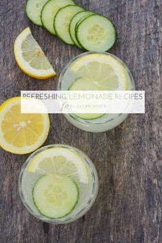 8 Refreshing Lemonade Recipes For Summer