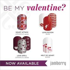 My favourite is Love Spell. Which is your favourite? JenClark.JamberryNails.net