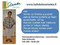 TIETOA SLANKASTA | laihdutusjaterveys-slanka.fi