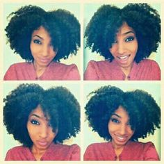 #BRAID OUT #natural hair