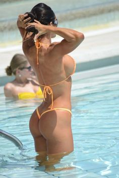 The Sexy Micro Bikini Trend Has Ruled This Hot Summer - Likes Michelle Lewin, Bikini Babes, Hot Bikini, Fitness Babe, Fitness Motivation, Fit Women, Sexy Women, Mädchen In Bikinis, Lingerie
