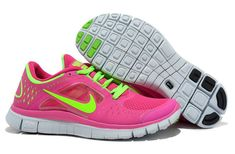 the latest d9831 bb068 Nike Free Run 3 Womens Fireberry Electric Green Running Shoes Size