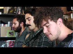 Local Natives on NPR's tiny desk concert. I love listening in the evening a glass of wine and the windows open.