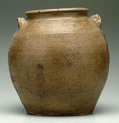 Mud Sweat and Tears Edgefield stoneware jar