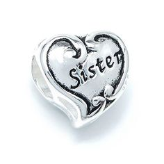 Queenberry .925 Sterling Silver Siste... $19.98 #topseller