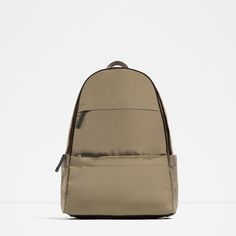 ZARA - NEW IN - BACKPACK WITH FRONT POCKETS Ref.  3546/105 $59.90