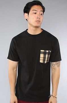 The Plaid Pocket Tee by Defyant, $30.00