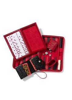 Chico's Backgammon, Domino and Bridge sets #chicossweeps