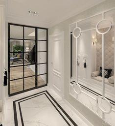 classic - New Deko Sites Luxury Homes Interior, Home Interior Design, Interior Decorating, Hotel Door, Bedroom Wall Colors, Hallway Designs, Luxury Closet, House Entrance, Suites