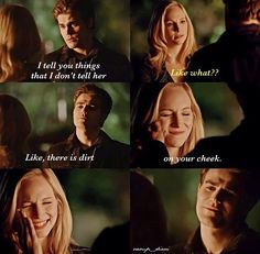 I hate that people ship Caroline and Stefan together - I like the way they've been written so far, like they're siblings, like she's his new Lexi. Besides, I'm completely shipping Klaroline, sooo......  Couldn't agree more!! ^^ perf!