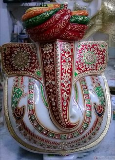 Marble Pagadi Loard Ganesh Product Detail » Girnar Craft