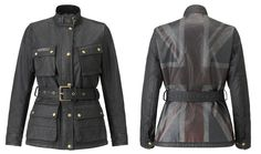 Belstaff Commemorative 'Union Jack' Trialmaster Jacket