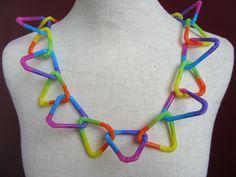 DIY: Kette aus Strohhalmen / DIY Necklace of Straws