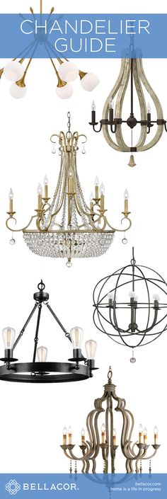 Chandelier Buying Guide Everything You Need To Know When Buying A Chandelier And Interior Lighting, Home Lighting, Chandelier Lighting, Chandeliers, Light Project, My New Room, Home Staging, Hanging Lights, My Dream Home
