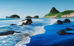 Back Beach, New Plymouth, Taranaki, New Zealand