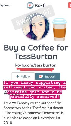 I'm on Ko-Fi accepting your kind donations ❤️