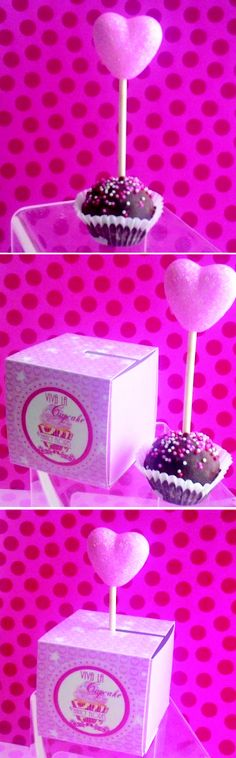 My cake pop and packaging!