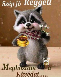 Biro, Good Morning, Fox, Teddy Bear, Animals, Erika, Humor, Good Day, Animales