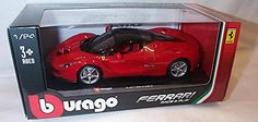 #PopularKidsToys Just Added In New Toys In Store!Read The Full Description & Reviews Here - burago red LA ferrari car 1.24 scale diecast model - burago red LA ferrari car diecast model brand new displayed in a mint box and is part of the burago bijoux collezione collection this model is 1.24 scale and is 3+ in age made by burago displayed in a mint box this model is part of the burago collection diecast model 1.24 scale burago 3+ Frequently Bought Together + +