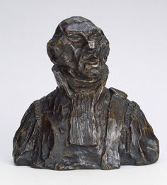 Honore-Victorin Daumier, Andre-Marie-Jean-Jacques Dupin, 1832. Bronze.