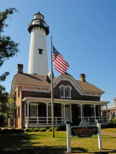 St. Simons Island Light in Georgia.