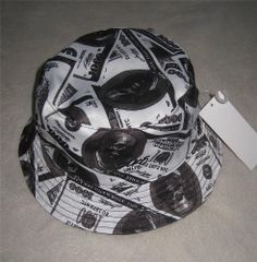 NWT ECKO UNLTD MONEY MEN REVERSIBLE BUCKET HAT SIZE MEDIUM BLACK #EckoUnltd #Bucket