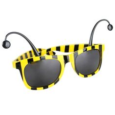 Yellow Black Bumble Bee Novelty Sunglasses Dress Up Party Costume Accessory Funny Couple Costumes, Diy Couples Costumes, Costume Ideas, Black Bumble Bee, Black Bee, Bee Glasses, Blossom Costumes, Novelty Sunglasses, Cat Toilet Training