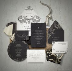 Game of Thrones Wedding Invitations on Behance