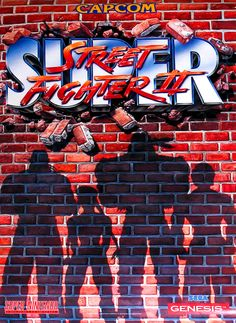 Super Street Fighter II Promo Poster