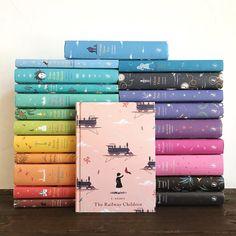 Updated Puffin Classics with a list! Book Nerd, Book Club Books, Book Lists, Book Cover Design, Book Design, I Love Books, Books To Read, Reading Books, World Of Books