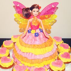 Because every little girl needs a Barbie cake at least once!!! Made with love by me