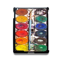 Messywatercolorset TATUM-7069 Apple Phonecase Cover For Ipad 2/3/4, Ipad Mini 2/3/4, Ipad Air, Ipad Air 2