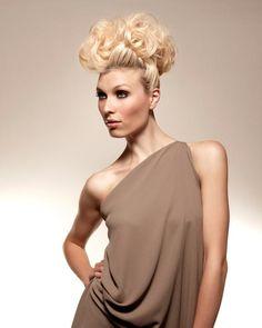 http://www.esteticamagazine.co.uk Hair by: Karen B @ Kenchez Hair Salon, Wolverhampton    Make up & Wardrobe: Justin Collins    Photography: Richard Miles