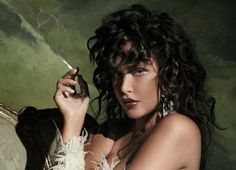 Glamour Girl - Actress Paz de la Huerta strips down for the latest issue of Kurv Magazine. In front of JD Forte's lens, the American star ears a mix of dazzling jewelry, feather jewelry and lacy wraps styled by Jessica...