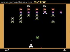 Galaxian game published by Atari in 1983, developed by Namco Limited.