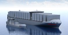 LNG fueled container ship