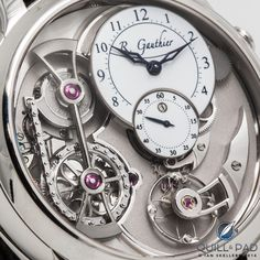 Logical One By Romain Gauthier... When Romain Gauthier presented his Logical One at Baselworld 2013, I wasn't the only one impressed: later that same year Logical One was awarded the prestigious prize for best Men's Complication at the Grand Prix d'Horlogerie de Genève.