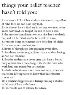 lovingdancer: balletandbeautifulthings: i really love this; don't forget to really mean your reverence at the end of every class! One of the truest things Ive ever read. I wanted to share this with you all.