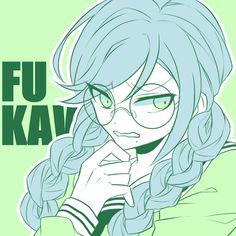 cute anime girl, genocider syo, and touko fukawa image