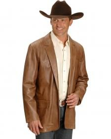 Men's Western Blazers, Sport Coats and Suit Jackets from Scully Leather, Circle S Clothing, and more - available and ready to ship. Mens Leather Blazer, Leather Men, Scully, Sport Coat, Mens Suits, Cowboy Hats, Lamb, Suit Jacket, My Style